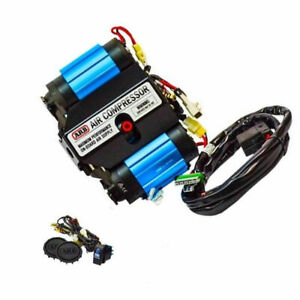 Arb Two Stage On Board Stationary Max Performance 12 V Twin Air Compressor Kit
