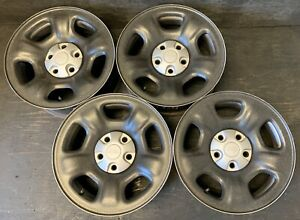 4 Jeep Liberty Cherokee Wrangler Wheels Rims Caps 16