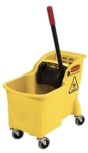 Mop Bucket By Rubbermaid Commercial Products 31 Qt Tandam