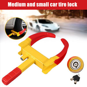 Anti Theft Wheel Lock Clamp Boot Tire Claw Durable Trailer Auto Car Towing
