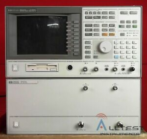 Hp Agilent 89441a 3416a00750 Dc To 2 65 Ghz Vector Signal Analyzer Options