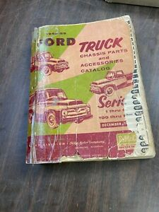 1948 55 Ford Truck Chassis Parts Accessories Catalog Book 1120