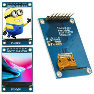 4 wire 1 3inch Tft Lcd 240 240color Ips Screen St7789 7pin Module For Arduino