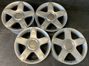 4 Audi Allroad Wheels Rims Caps 17