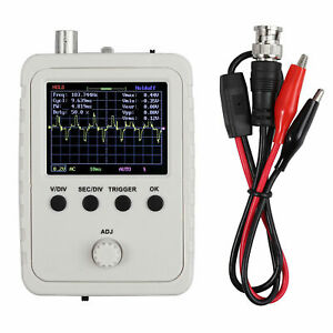 Assembled Dso150 Digital Oscilloscope 2 4 Lcd Display With Case Test Clip Power