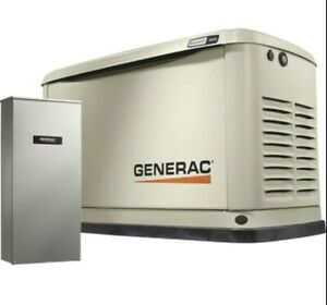 Generac Guardian Air cooled Home Standby Generator 16 Kw 200 Amptransfer Switch