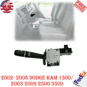Turn Signal Switch For 2002 2008 Dodge Ram 1500 2500 3500 Pickup Truck