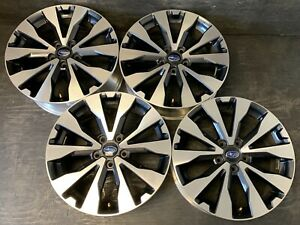 4 Subaru Legacy Impreza Wheels Rims Caps 18