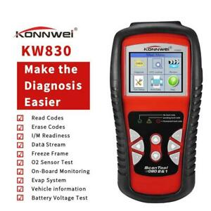 Kw830 Obd2 Car Scanner Auto Diagnostic Tool Obdii Fault Code Reader Konnwei Us