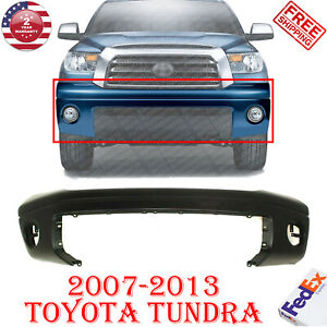 Front Bumper Cover Primed For 2007 2013 Toyota Tundra Limited Rock Warrior