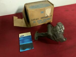 Nos Ford Mercury 429 Scj Cj Boss Oil Pump C9az 6600 A Mustang Torino