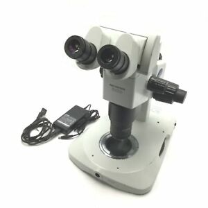 Olympus Szx9 Stereo Microscope Magnification 6 3x 57x With Illuminating Stand