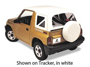 Bestop 51366 01 Replace A Top Soft Top Black Crush For 99 02 Chevrolet Tracker