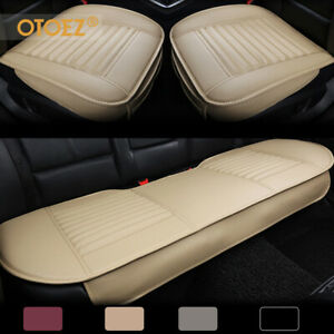 Leather Car Seat Cover Set Full Surround Universal For Auto Interior Accessories