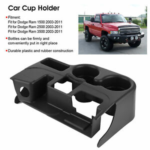 Center Console Cup Holder For 1999 2001 Dodge Ram 1500 2500 3500