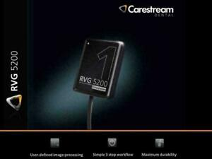Rvg 5200 Carestream Kodak Digital X ray Sensor For Dental X ray Size 1