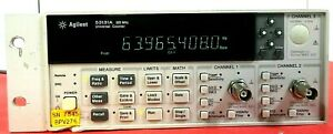 Agilent 53131a Universal Counter 225 Mhz Good Working Free Shipping