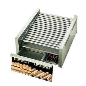 Star 75scbd Grill max Pro 75 Hot Dog Roller Grill W Bun Drawer
