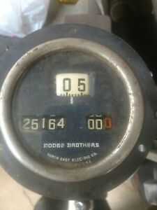 Dodge Brothers Antique Speedometer Model 3850 Northeast Electric Co