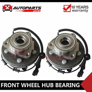 Pair Of 2 New Front Wheel Hub Bearing Assembly For Explorer Mountaineer Aviator