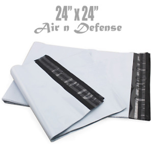 24x 24 Poly Mailers Envelopes Plastic Shipping Bags 2 5 Mil Airndefense