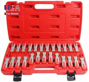 Terminal Removal Tool Kit Car Wiring Connector Pin Release Extractor Crimp 25pcs