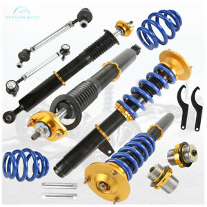 Front Rear Coilover Struts Shocks Absorber For 99 05 Bmw 3 Series E46 Adj Height