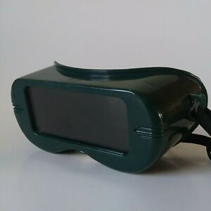 Green Unigoggle Welding Goggles Very Lightly Used Vintage 1989