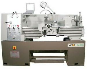 14 Swg 40 Cc Victor 1440g Engine Lathe D1 4 Camlock With 1 9 16 Spdl Bore 1
