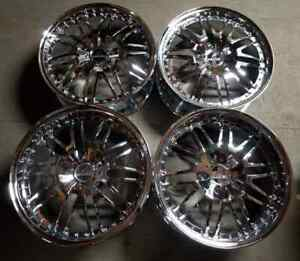 Russtec Forged Wheels Rims 19 Inch Staggered 5x114 3 25mm Chrome