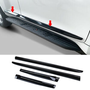 For Toyota Prado Fj150 2010 2021 Glossy Black Body Trim Moulding Trim Strips 4pc