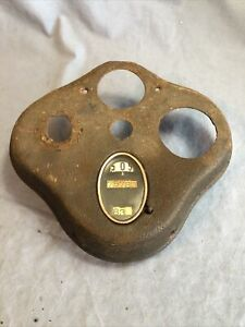 Vintage Model A Ford Antique Speedometer Dash Panel 1928 1929 1930 1931