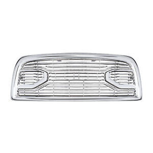 Fits For 2013 2018 Dodge Ram 2500 5500 Chrome Laramie Limited Front Grille