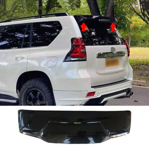 Fit For Toyota Prado Fj150 2010 2020 Rear Roof Spoiler Wing Glossy Black Painted