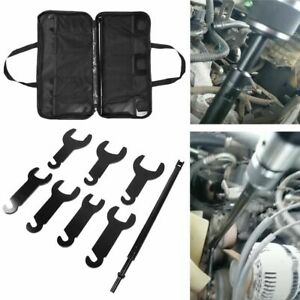43300 Pneumatic Fan Clutch Wrench Set Removal Tool For Gm Ford Chrysler Jeep