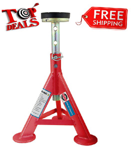 Esco 3 Ton Adjustable Performance Car Truck Jack Stand Red New