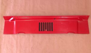 Jeep Wrangler Tj 97 06 Red Cowl Vent Hood Factory