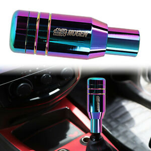 Universal Jdm Mugen Aluminum Neo Chrome Automatic Gear Stick Shift Knob Shifter