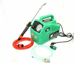Portable 145psi Pressure Washer For Ac Hvac Coil Service Cleaning Car Wash