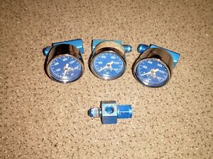 Nitrous Works Nos Pressure Gauge Adapter Fitting