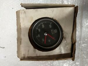 Stewart Warner Tach 6k Old Stock New In Box Tachometer Nos