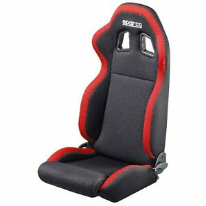Sparco 00961nrrs R100 Racing Seat Black Red