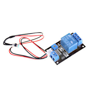 Photosensitive Resistance Relay Control Module light operated Switch Dc12v Dr_pp