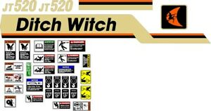 American Auger bauer Casagrande Ditch Witch Reedrill Vermeer Decal Sets