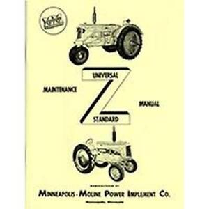 R5966 Service Manual Fits Minneapolis moline