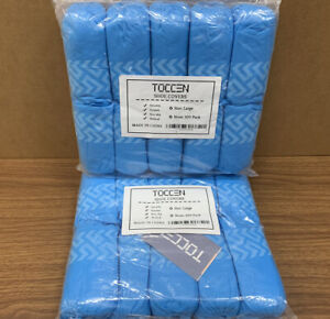 Premium Disposable Non Slip Boot Shoe Covers Extra Thick 200 Pack 100 Pairs