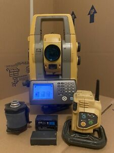 Topcon Ps103as Robotic Total Station With Rc5 Radio Ps 103 As