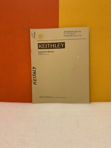 Keithley Model 156 Null Detector microvoltmeter Instruction Manual