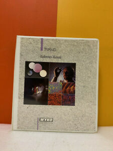 Wyko Topo 3d Non contact Surface Profiler Software Reference Manual