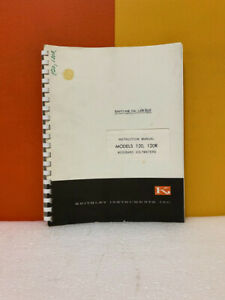 Keithley Models 120 120r Wideband Voltmeters Instruction Manual